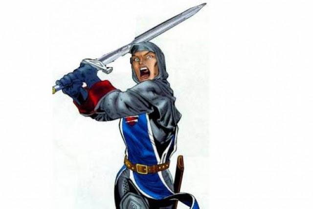 superhero beragama islam, superhero muslim, faiza hussain
