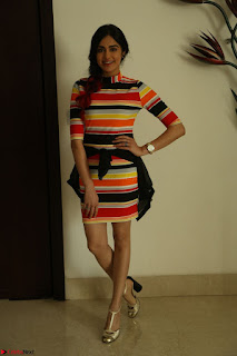 Adha Sharma in a Cute Colorful Jumpsuit Styled By Manasi Aggarwal Promoting movie Commando 2 (179).JPG