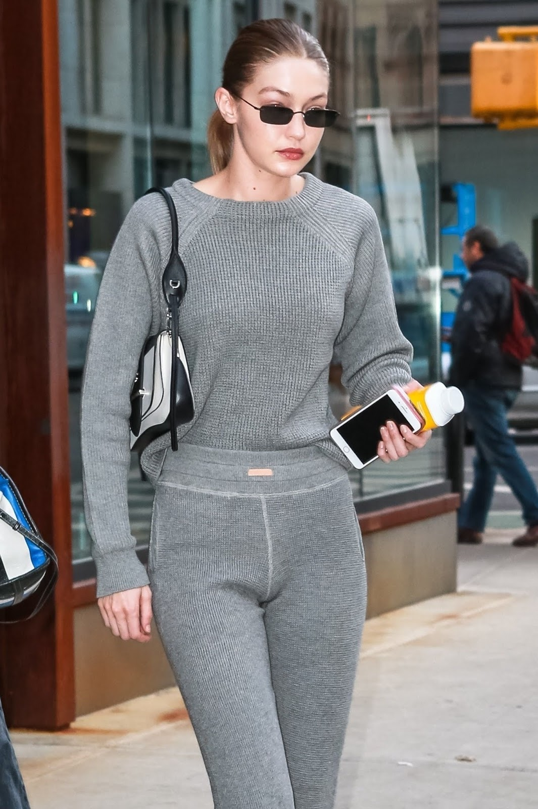 Gigi Hadid - Out and about in NYC - 02/05/2019