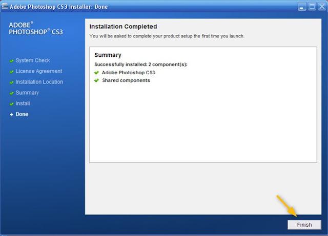 Sebuah software yang sudah tidak gila lagi bagi kau yang sering edit foto di komputer d Cara Install Adobe Photoshop CS3