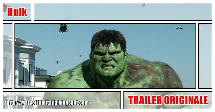 Marvel Film Italia: Hulk (2003) - Trailer originale