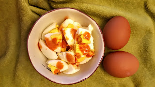 Healthy Snack, Hard Boiled Eggs