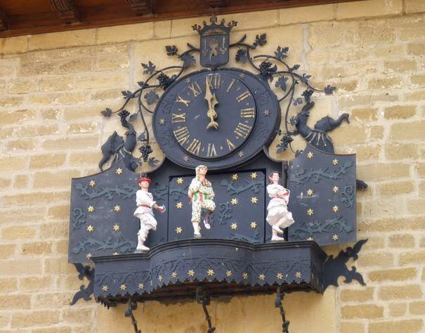 Reloj carrillón de Laguardia.
