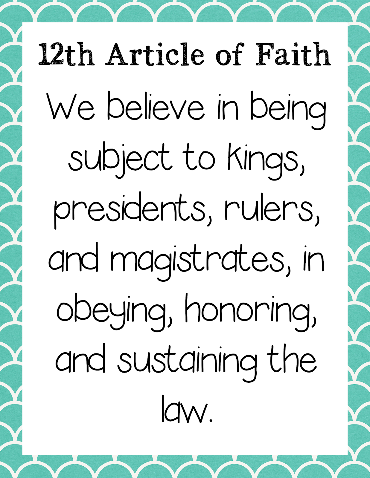graphic regarding Articles of Faith Printable Cards identify The Relaxed Purple Cottage: I will Obey the Legislation (Lesson 31, Simple 2)