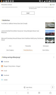 Cara Menghilangkan Berita Hot di UC Browser