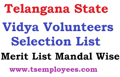 Warangal Rural Vidya Volunteers Selection List 2017 Merit List Mandal Wise District School wise New Merit List 2016 - 2017 school wise vacancies list Warangal Rural Dist Vidya Volunters Online Application DEO Warangal Rural VVS Application form Select Candidate Merit list Roaster Point Details Waiting List Name wise Village wise List Marks List Cut-off Marks Selection Process total applications list merit list date deo Warangal Rural website  TS Warangal Rural District VVs Merit list , Subject Wise option list , LP - Telugu , Hindi , Urdhu , SA - English , Maths , PS , Bio. Science , Social, SGT Merit list TS Vidya volunteers  Mandal wise list , VVs Section Process with roster system , ssa.tg.nic.in , Acadamic Instructors Recruitment , TS VVs  appointment  Orders copy , Appointment  schools , Vidya volunteers District wise Vacancies list  , MEO Selection list  ,  DEOs released vvs Selection llist , Vidya volunteers Selection list disply in DEO's official website .