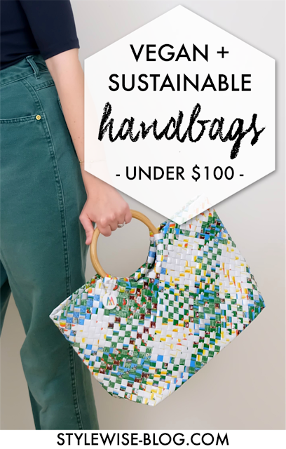 affordable sustainable vegan handbags under $100 stylewise-blog.com