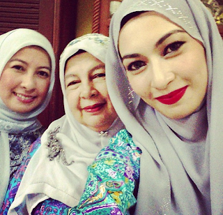20 Gambar Instagram ArtisArtis Malaysia Berhari Raya