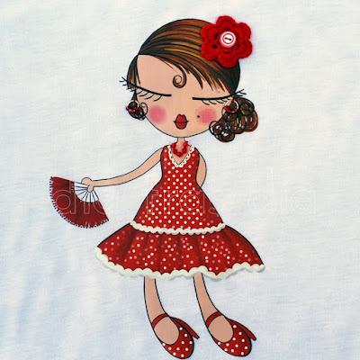Camisetas flamenca