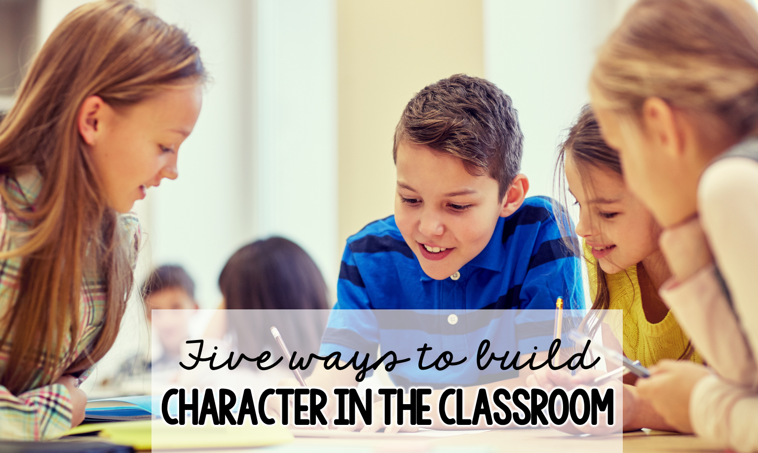 Building character in the classroom is part of building a positive school climate and part of building relationships. In this post, tips are shared to help teachers help students feel they are a valuable member of the team. Free resource included.