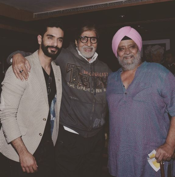 Angad Bedi Sets Special Advice from Amitabh Bachchan