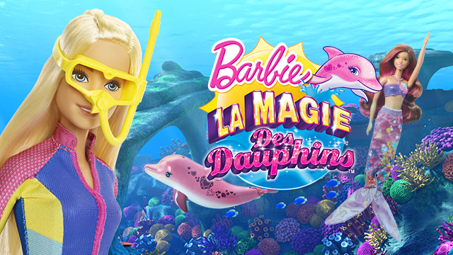 Ces doux moments barbie et la magie des dauphins au cin ma et en cadeau concours une barbie - Barbie sirene magique ...