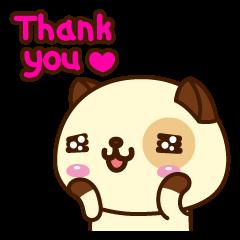 Sticker Lucu Dengan Kata Kata Thank you