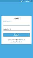 Tampilan Aplikasi Halaman Login