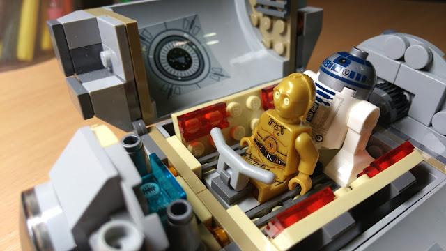Набор лего, R2-D2 и C-3PO, фигурки лего Звездные войны, купить