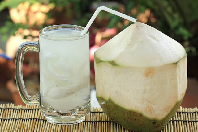 Coconut water for energy booster