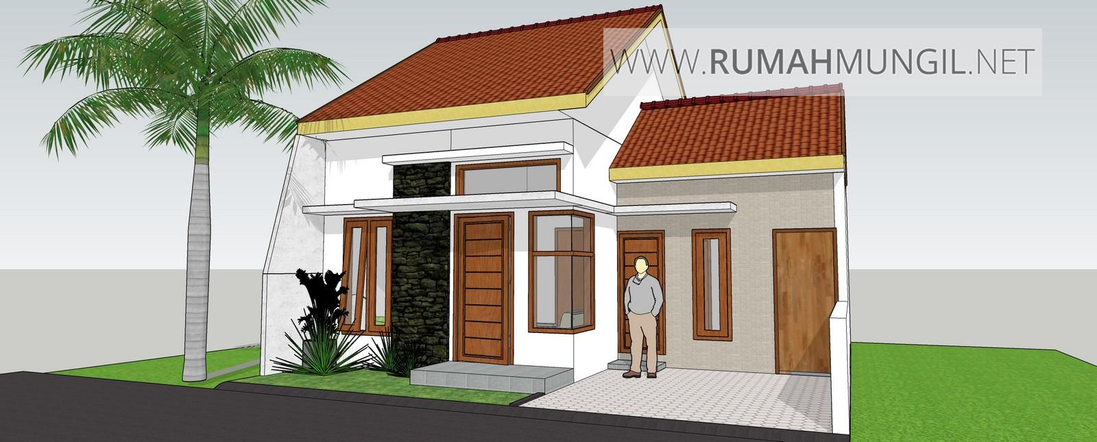 Model Rumah Mungil 7x8m Sederhana Rumahmungil Net
