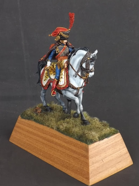 Captain of the Hussars, Elite Company 1806 - 1812 - Pegaso Miniatures 75mm New_1_003