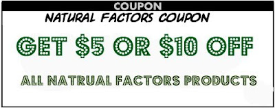 Natural Factors Coupon