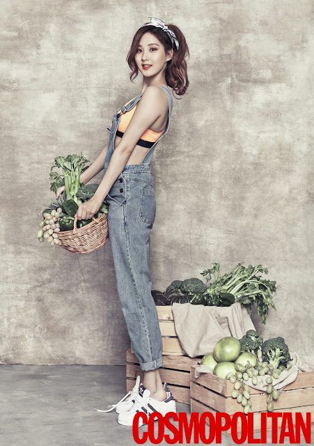 Steal Her Look: Seohyun's Refreshing Denim Overall Look