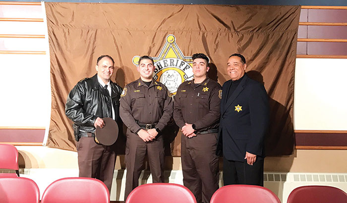 Two join Wayne County Sheriff's Department ~ Iraq Solidarity News