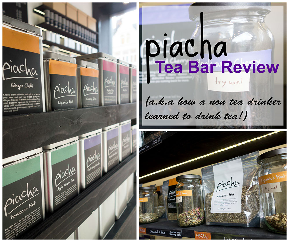Piacha Tea Bar Review | How A Non Tea Drinker Learned To Enjoy Tea!