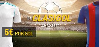 bwin Real Madrid vs Barcelona El Clasigol gana 5 euros por gol 23 diciembre
