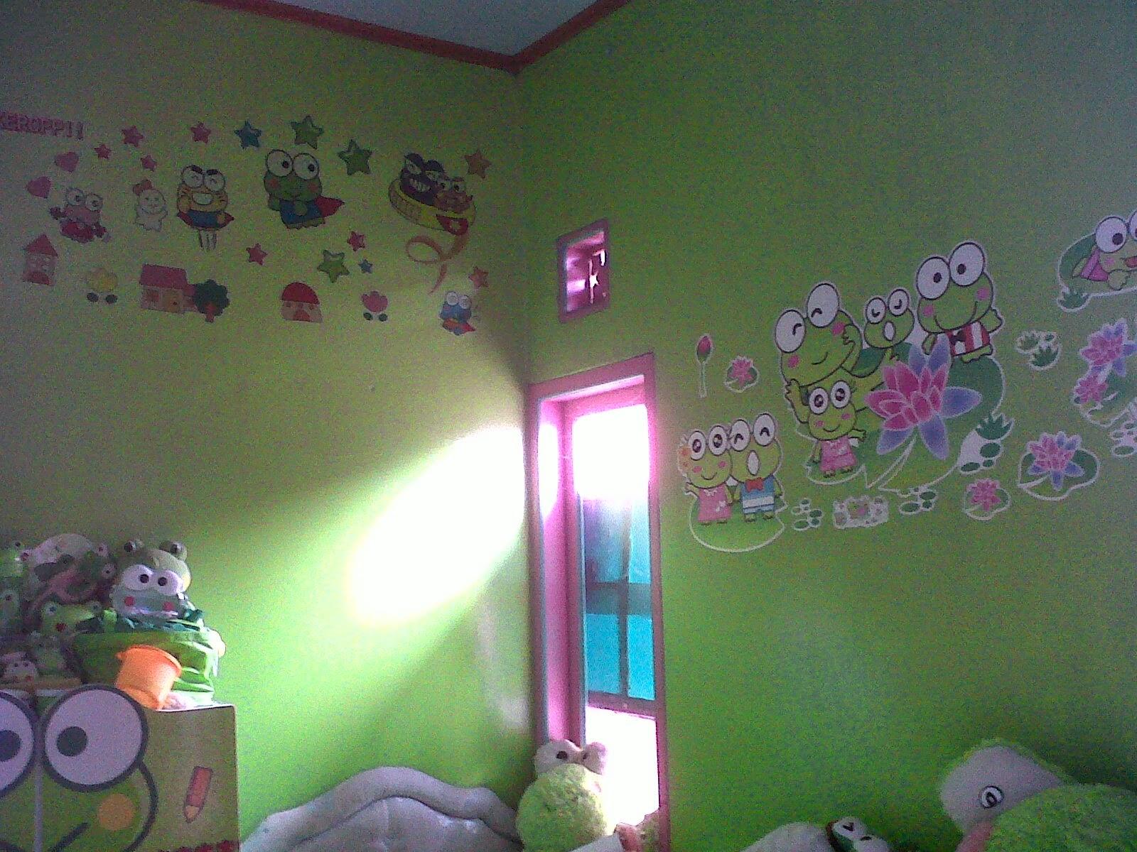 desain kamar tidur anak perempuan keroppi | expo desain rumah