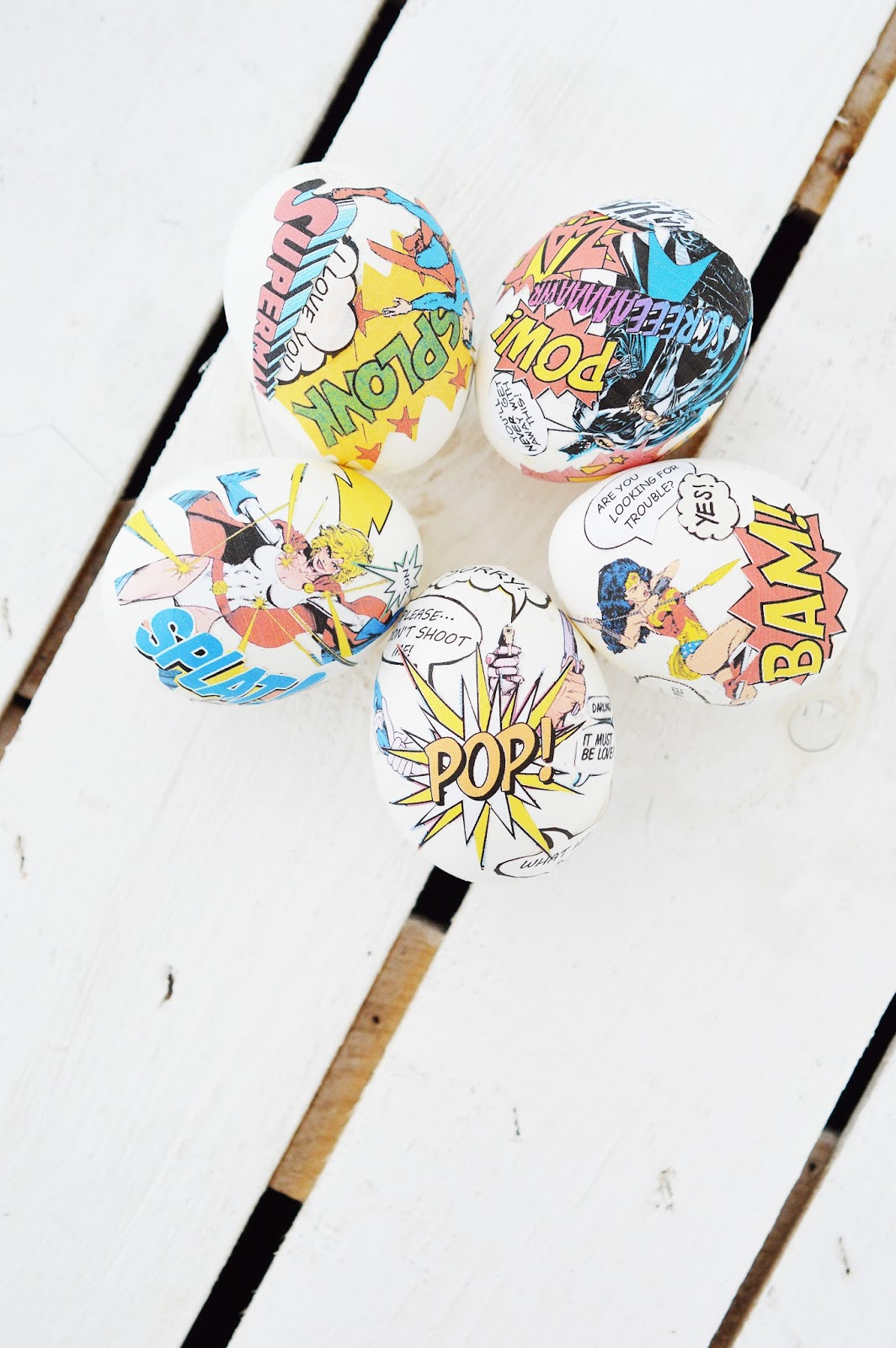 DIY Comic Book Easter Eggs | Motte's Blog