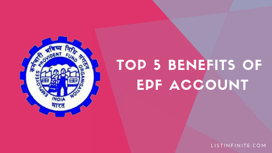 Top 5 Benefits That You Get in Free With a PF Account.