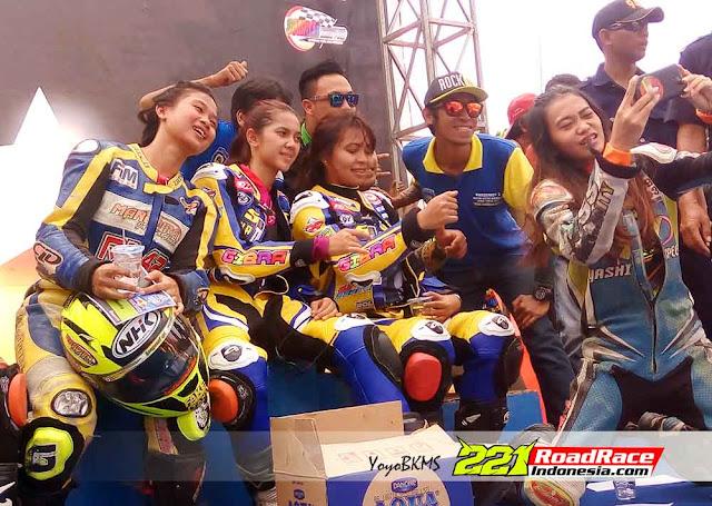 Hasil Matic Race JATIM Seri 4, Pesona Raya Kitty Sukses Gegerkan Kota Kediri