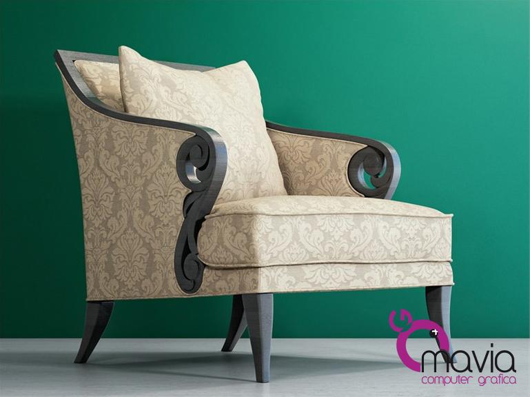 Arredamento di interni poltrone e sofa 3d rendering i for Rendering 3d interni gratis