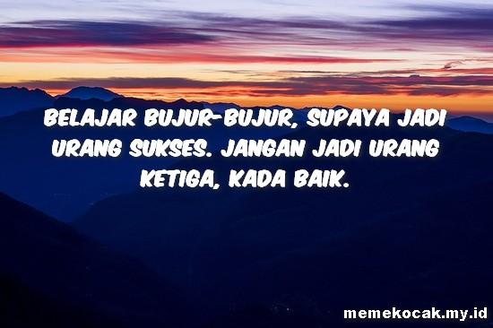 54 Gambar Kata Motivasi Dalam Bahasa Banjar Meme Kocak