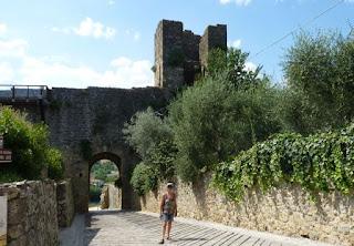 Monteriggioni-Puerta de Ponente.