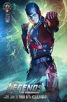 DC's Legends of Tomorrow Character Television Poster Set - Brandon Routh as The Atom