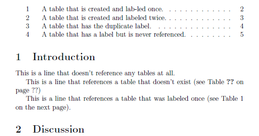 Latex multiply defined labels