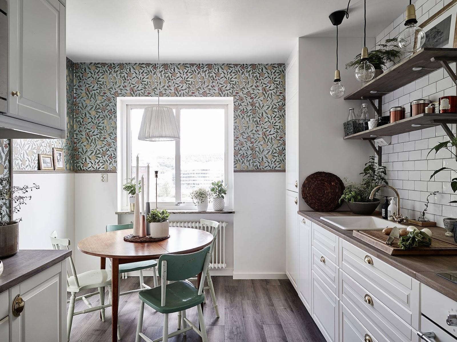 Pani Króliczek Inspiracje Mieszkanie z piękną kuchnią 62 -> Inspiracje Domowe Kuchnia