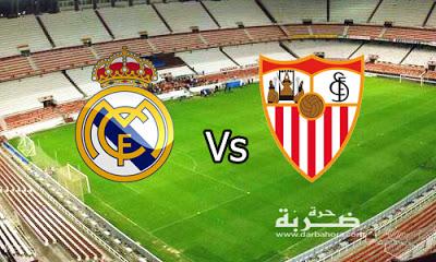 نتيجة مباراة ريال مدريد واشبيلية اليوم 14-5-2017 فوز الريال بنتيجة 4-1 في الدوري الاسباني