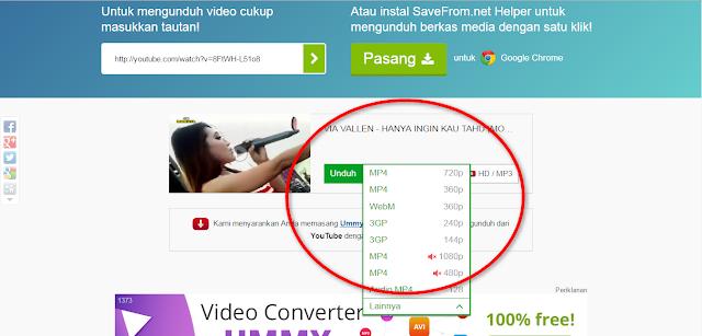 Cara Download Video Di Youtube Tanpa Aplikasi