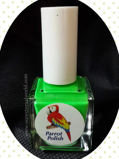 Parrot Polish Key Lime Swatches, nails blog