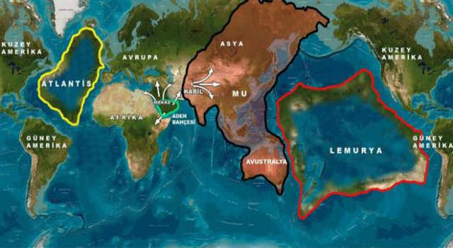 Atlantis is not the only lost continent