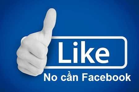 Tạo nút like cho blogspot không phụ thuộc facebook