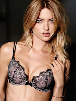 Cute model Martha Hunt hot photo shoot for Victoria's Secret lingerie bra sleepwear