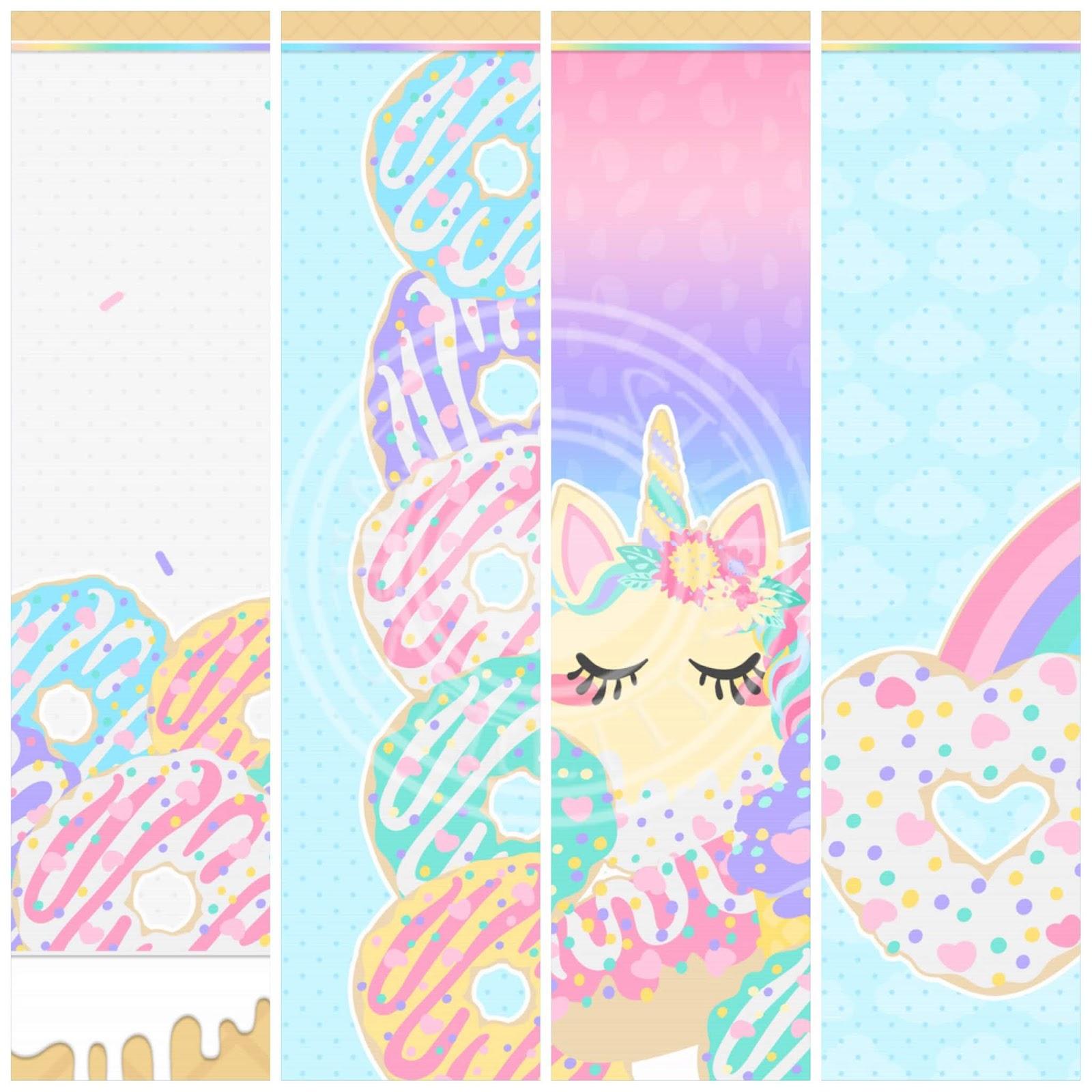 Magic Food 8 Piece Wallpaper Set