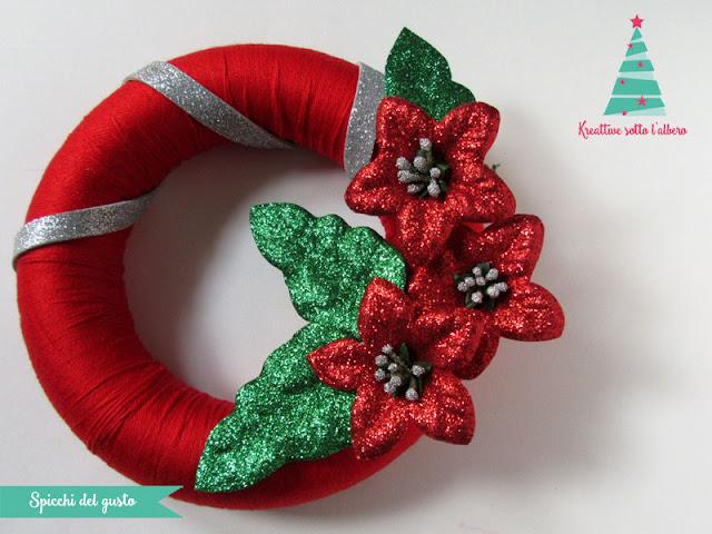 Ghirlanda natalizia in fommy