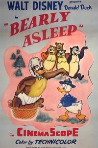 Poster Bearly Asleep