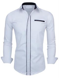 Long Sleeve professional Casual Men's Shirt
