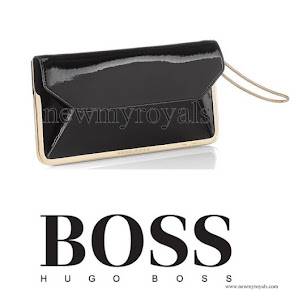 Queen Letizia Style HUGO BOSS Erica-V Clutch