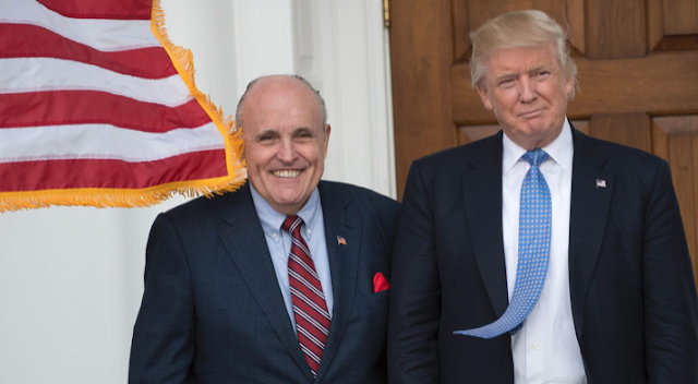 Rudy Giuliani Joining Trump's Legal Team 'For the Good of the Country'
