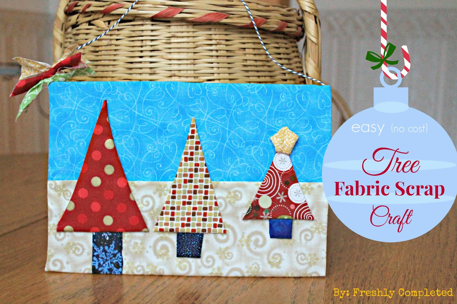 christmas fabric craft ideas freshly completed craft 3617